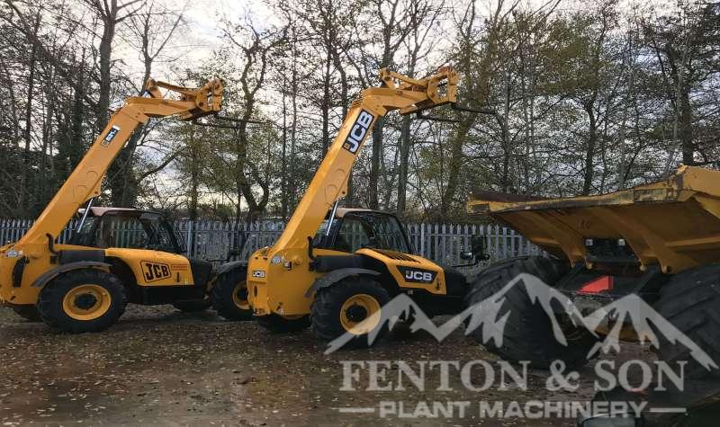 Fenton Plant Machinery Yard