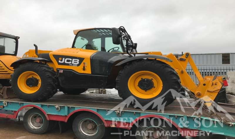 JCB Telehandler loaded for Ireland
