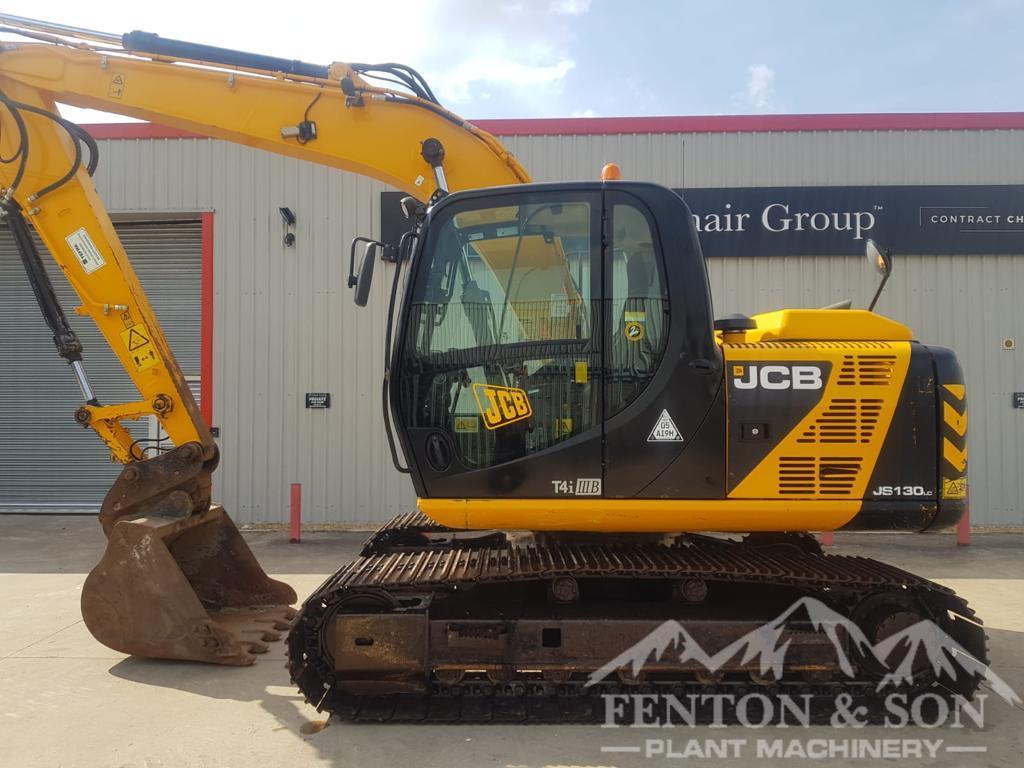2014 JCB JS130 Excavator