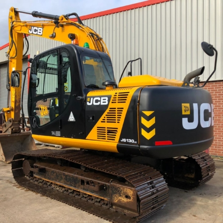 Excavators in stock