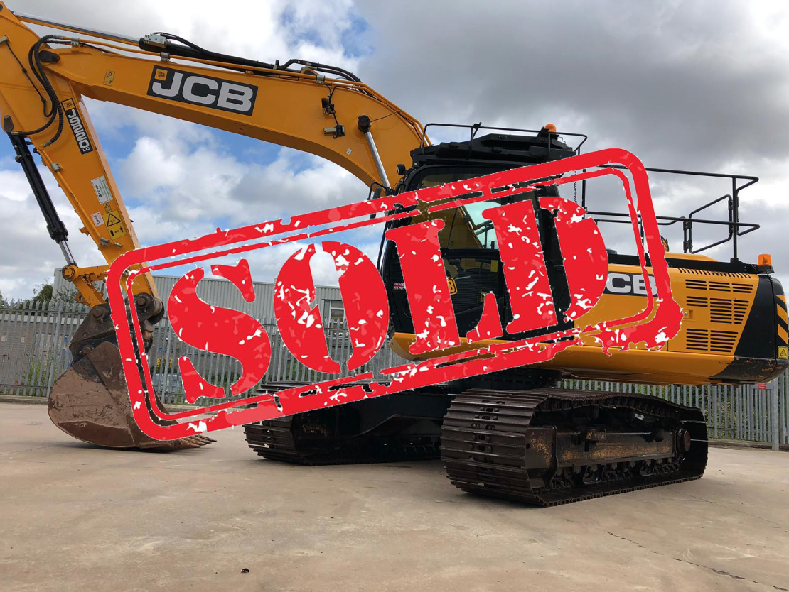 2015 JCB JS220 EXCAVATOR FOR SALE